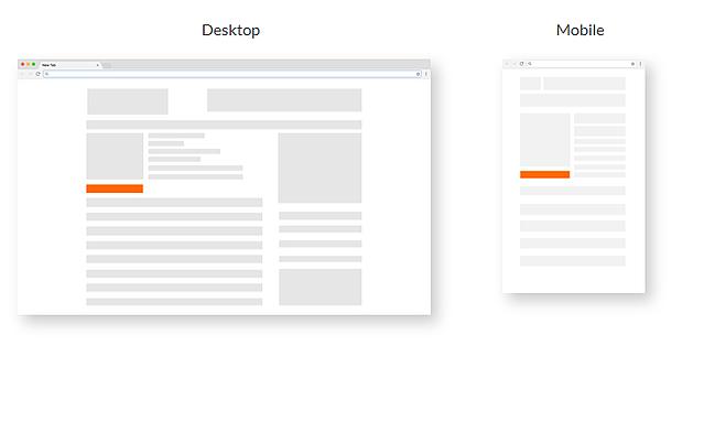 desktop and mobile ads