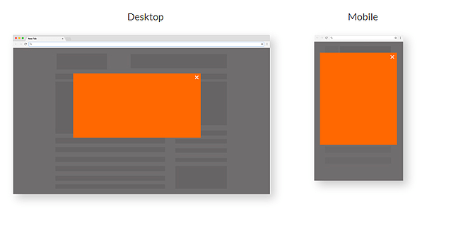 Shadow Box and Mobile-Only Ad Types