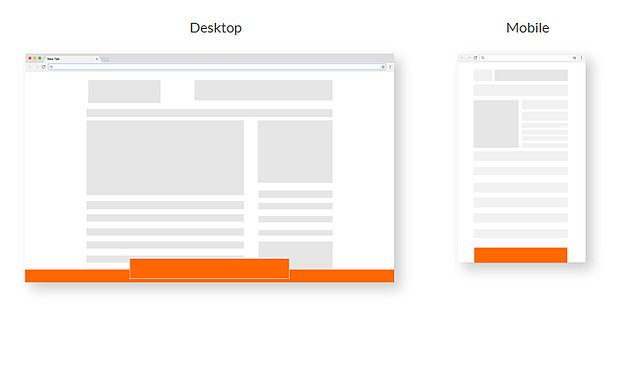 Footer and Interstitial Ads