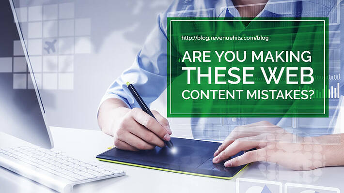 Are You Making These Web Content Mistakes? header