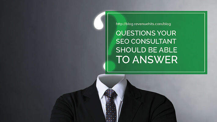 Questions Your SEO Consultant Should Be Able to Answer Header
