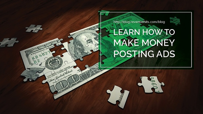 Learn How to Make Money Posting Ads header