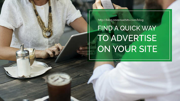 Find A Quick Way To Advertise On Your Site header