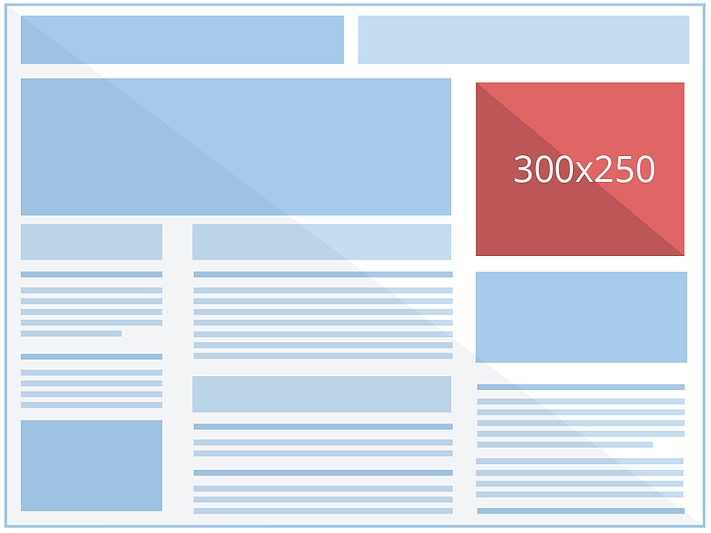Selecting the most suitable ad size for your website