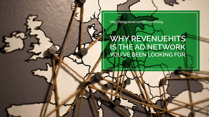Why RevenueHits is the Ad Network You've Been Looking For header