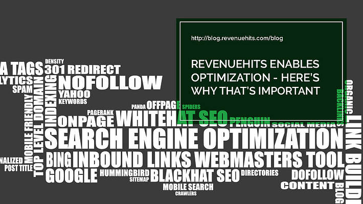 Revenue Hits Enables Optimization - Here's Why That's important header